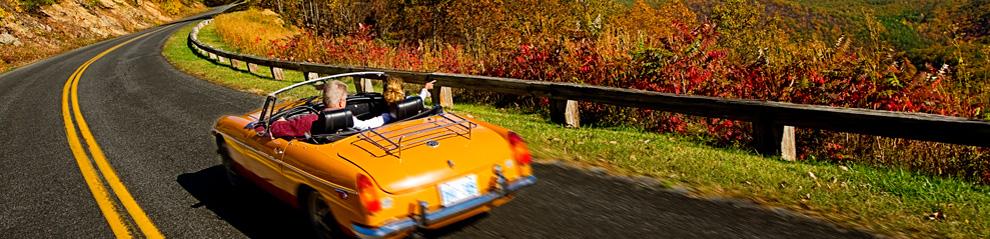 Blueridge Parkway Fall Foliage Trip